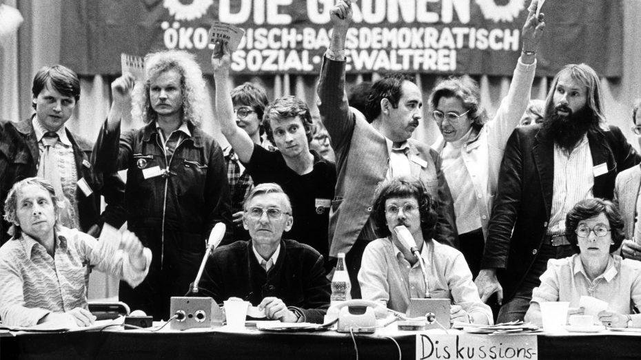 Gründungspartei der Grünen 1980 in Karlsruhe: Kämpfer für viele Minderheiten - auch für Pädophile. (Foto: Imago/Friedrich Stark)
