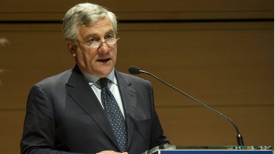 Der EVP-Politiker Antonio Tajani kandidiert für das Amt des EU-Parlamentspräsidenten. (Foto: Imago/Italy Photo Press)