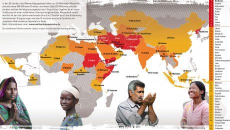 Christen weltweit unterdrückt