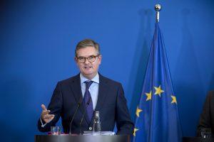 EU-Sicherheitskommissar Julian King. (Bild: Imago/IPON)