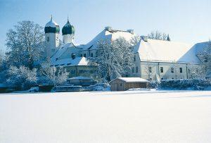 Das Kloster Seeon im Landkreis Traunstein. (Bild: Kloster Seeon/fkn)