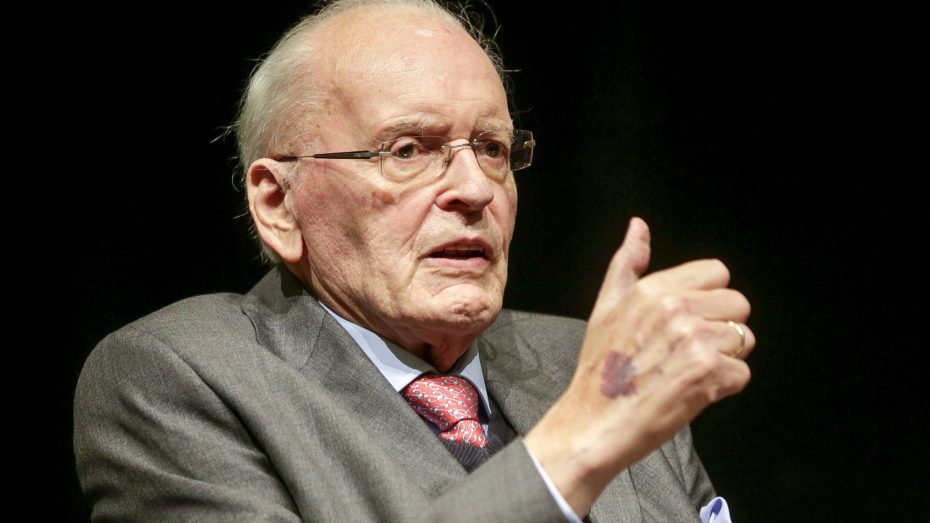 Der ehemalige Bundespräsident zu Gast im Treffunkt Rotebuehl. (Foto: Imago/Lichtgut)