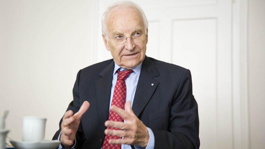 Edmund Stoiber, Ehrenvorsitzender der CSU und ehemaliger Bayerischer Ministerpräsident (Foto: BK/Nikky Maier).