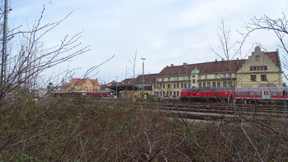 Der Inselbahnhof von Lindau. (Bild: avd)