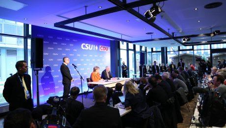 Spitzenkandidatin Angela Merkel