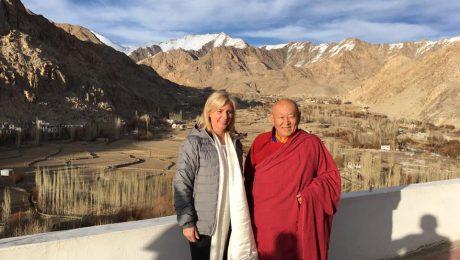 Künstliche Gletscher im Himalaya