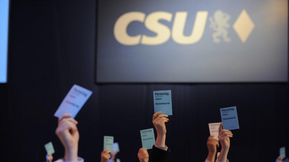 In Bayern und in der CSU wird 2017 wieder viel gewählt und nominiert. (Foto: CSU)