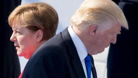 Trump ist böse auf die Deutschen