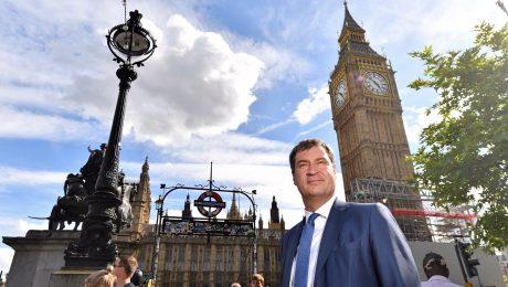Söder warnt vor hartem Brexit