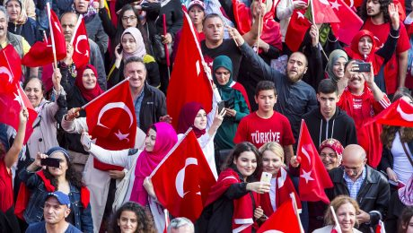 Spaltung der Deutsch-Türken