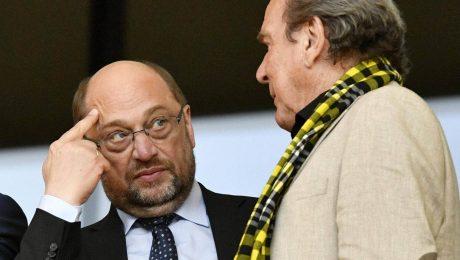 Schulz mit Schröder-Kritik isoliert