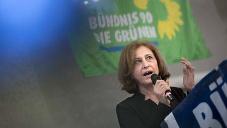Grüne Kandidatin im Zwielicht
