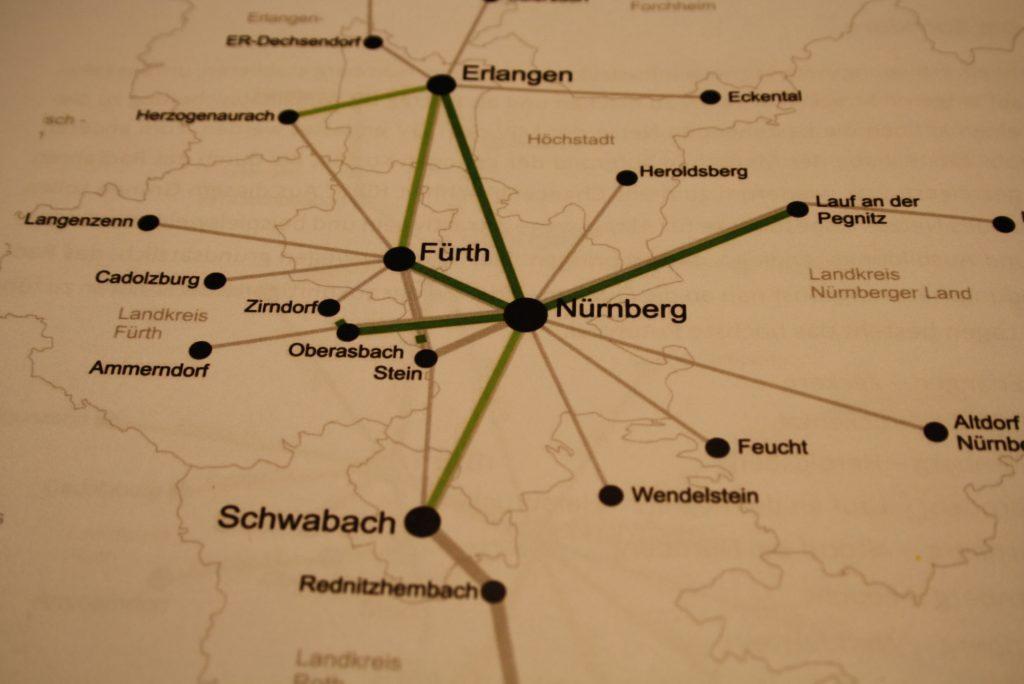 Schnellwege Fränkisches Radl Netz Bayernkurier