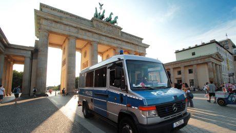 Berliner Polizei im Zwielicht