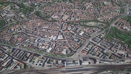 Landkarten und Luftbilder