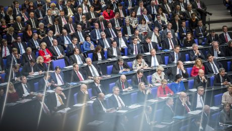 Trennlinie gegen Populisten