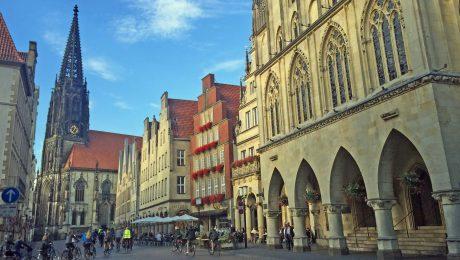 Friedenssuche in Münster