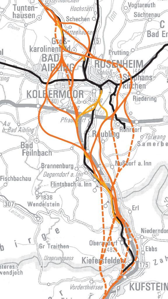 Brenner Tunnel Zwolf Varianten Fur Den Nordzulauf Bayernkurier