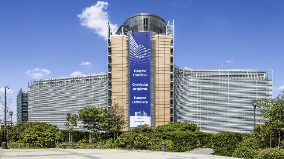 Sitz Der Europäischen Kommißion