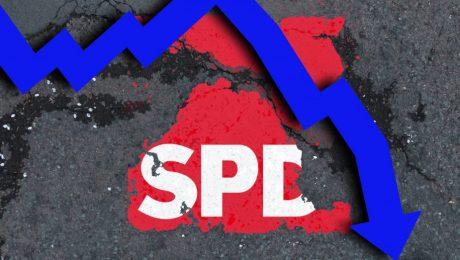 Unwählbar: Abwärts-SPD