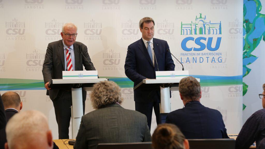 CSU Fraktion Wichtige Weichen Gestellt U2013 Bayernkurier