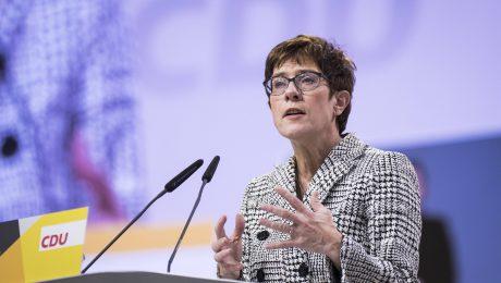 """""""AKK"""" ist neue Vorsitzende der CDU"""