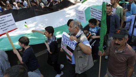Judenfeindliche Muslime und Linke