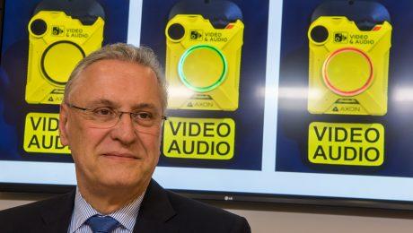 Body-Cams sollen Polizisten schützen