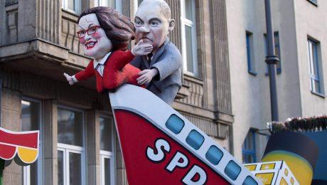 Union wehrt sich gegen SPD-Linksruck