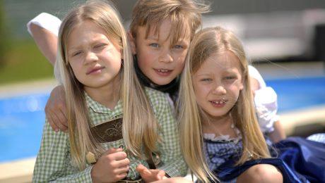 Bayerische Kinder sind seltener krank
