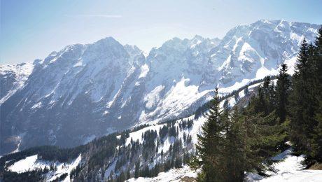 Die Berge schützen