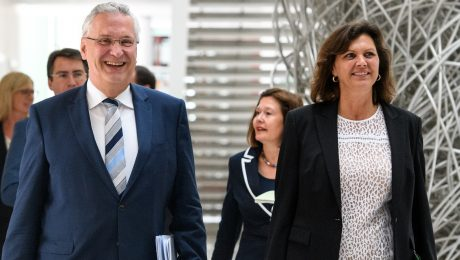 Aigner, Ferber und Herrmann bleiben CSU-Bezirksvorsitzende