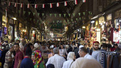 Gängige Praxis: Urlaub in Syrien