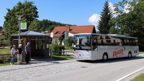 Mit dem Rufbus durch den Bayerwald