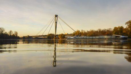 Freie Fahrt auf der Donau