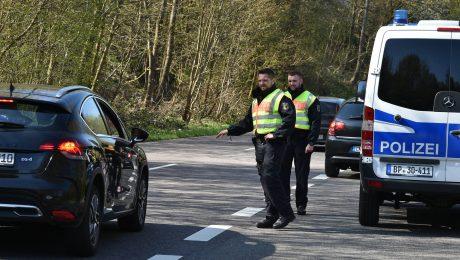 Die Grenzpolizei packt zu