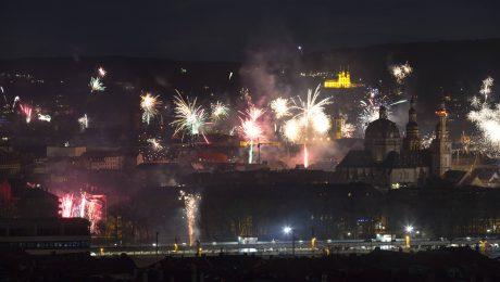 Weniger Feuerwerk an Silvester